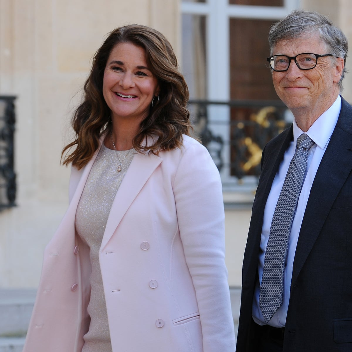bill gate and his wife